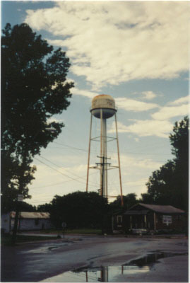 Friars Point Water Tower