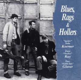 Blues Rags & Hollers CD cover