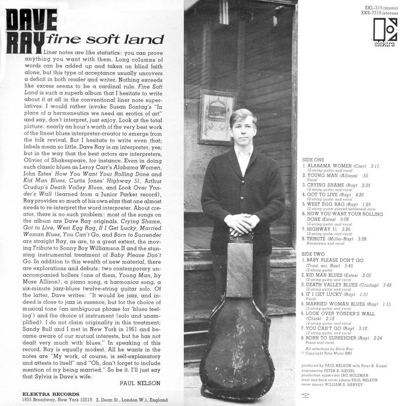 Dave Ray - Fine Soft Land