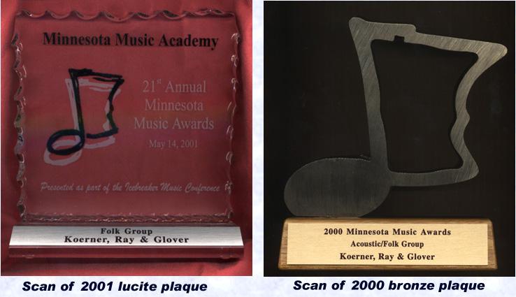 Koerner, Ray & Glover Minnie Award