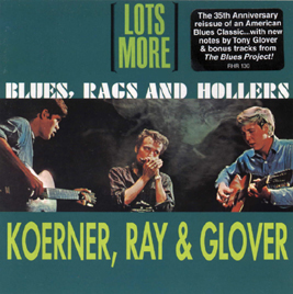 Lots More Blues, Rags and Hollers CD cover