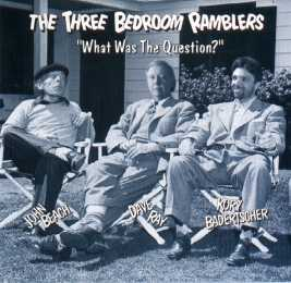 What Was The Question CD cover